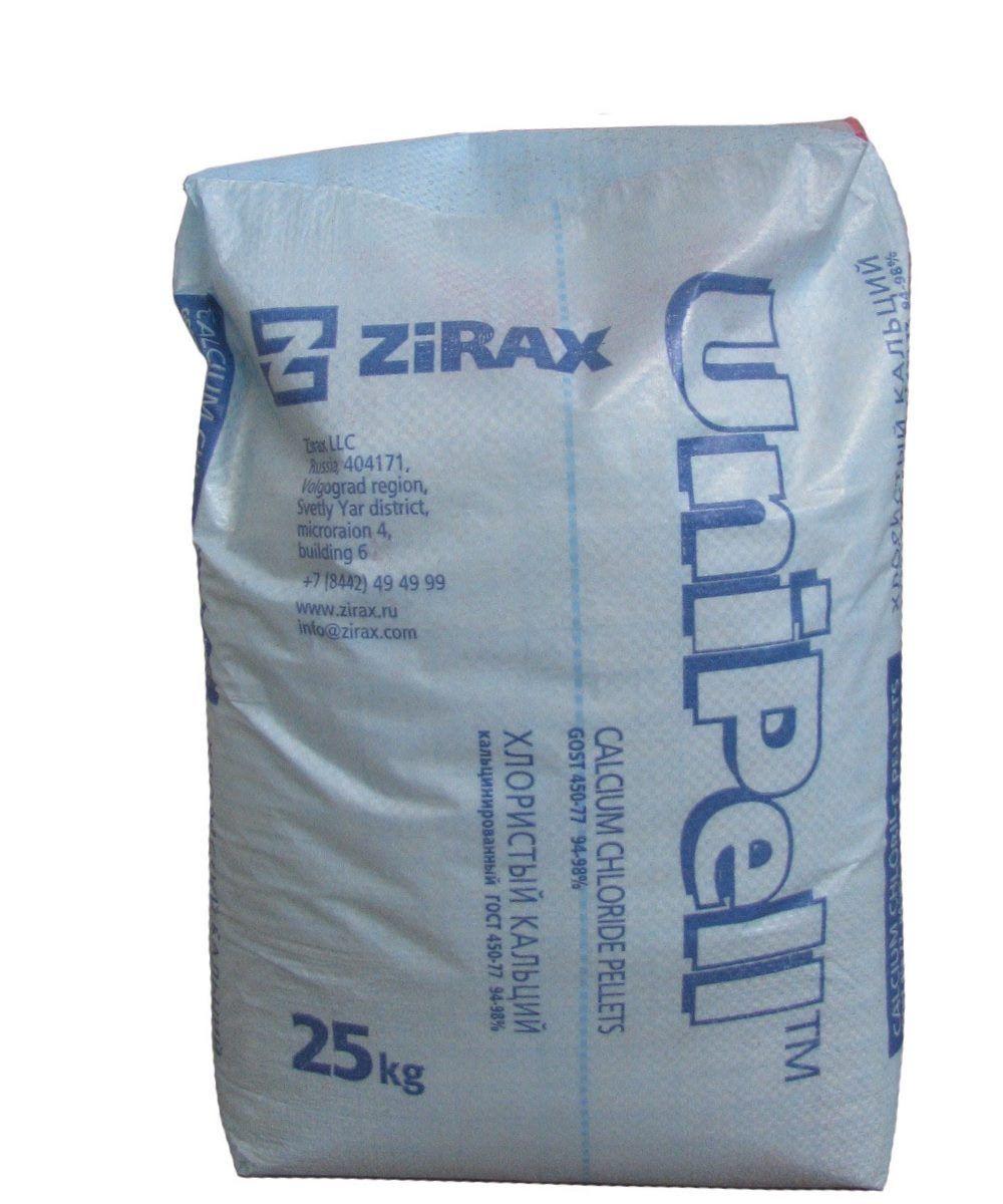 ХлористыйкальцийтехническийUnipell(Зиракс), 25 кг