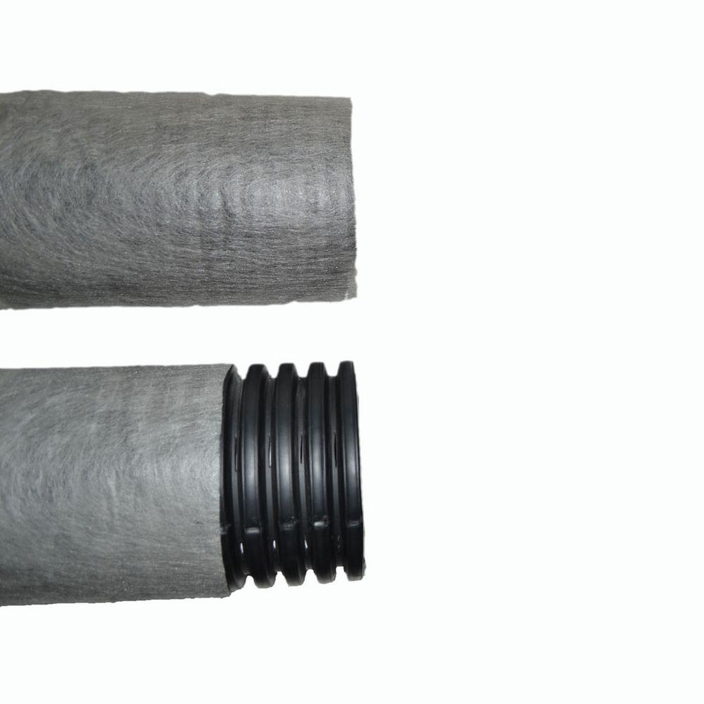 Дренажная труба гофрированная в фильтре геотекстильTyparØ200 мм, 1 п.м